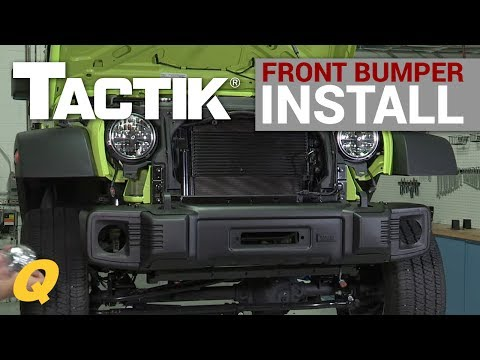 TACTIK® Front Bumper with Over Rider Hoop Install Overview