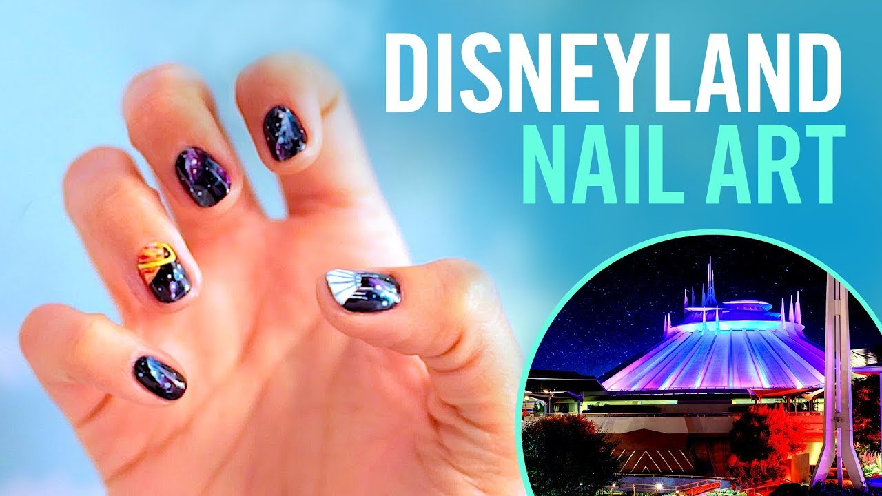 Disneyland Nail Art Tips By Disney Style Youtube