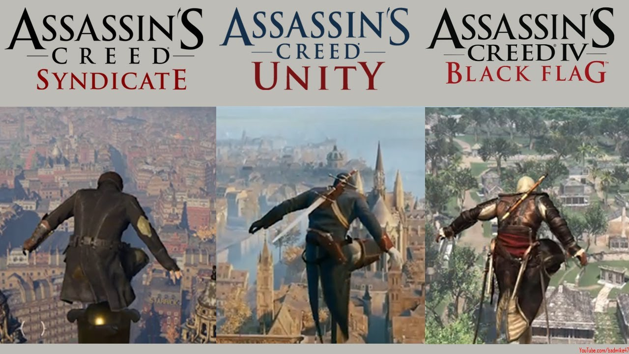 Highest Viewpoint Comparison - Assassin's creed Origins vs ...