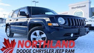 Walk Around 2017 Jeep Patriot Sport | Northland Dodge | Auto Dealership in Prince George BC