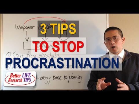 014 Procrastination best motivational video How to Stop Procrastinating