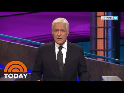 Alex Trebek Shares Emotional Update About His Cancer Diagnosis | TODAY