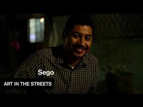 Global Street Art - Sego - Mexico City - Art in the Streets - MOCAtv