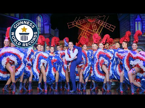 Guinness World Records Day 2014 - Moulin Rouge