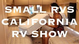 Small RVs at the California Pomona RV Show 2016
