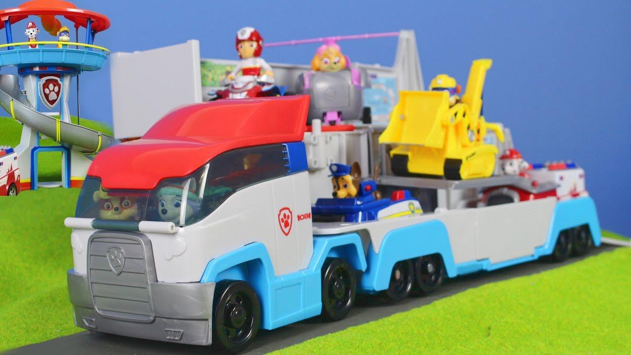 Paw Patrol Unboxing Deutsch Patroller Spielzeugautos Mit Chase