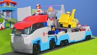 Paw Patrol Unboxing deutsch: Patroller Spielzeugautos mit Chase, Feuerwehrmann Marshall & Ryder