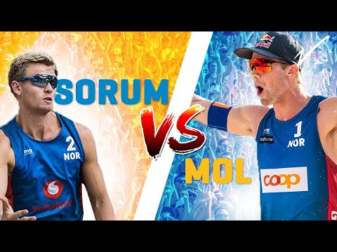 🇳🇴 Mol v Sorum | 🏐 Beach Volleyball World 1️⃣'s go head 2 head! Who wins?