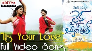 Its Your Love Full Video Song Life Is Beautiful Video Songs