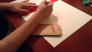 как сделать из бумаги айфон 6