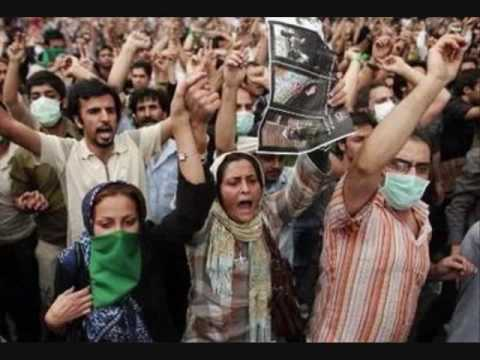 Yar e Dabestani e man (Series of clips and pictures from the 2009 Iranian election protests)