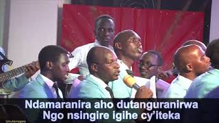 Download lagu UMUHAMAGARO ADEPR NYARUGENGE CHAPEL Live Stream Hosiana Choir live concert MP3