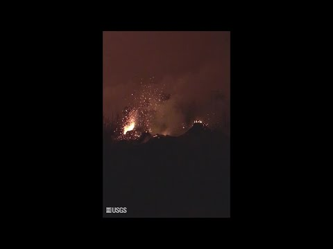 Fissure 8 reactivated overnight on May 25 (USGS)