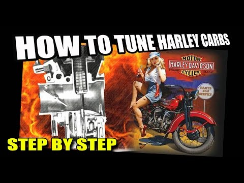 HOW TO TUNE A HARLEY DAVIDSON CARBURETOR