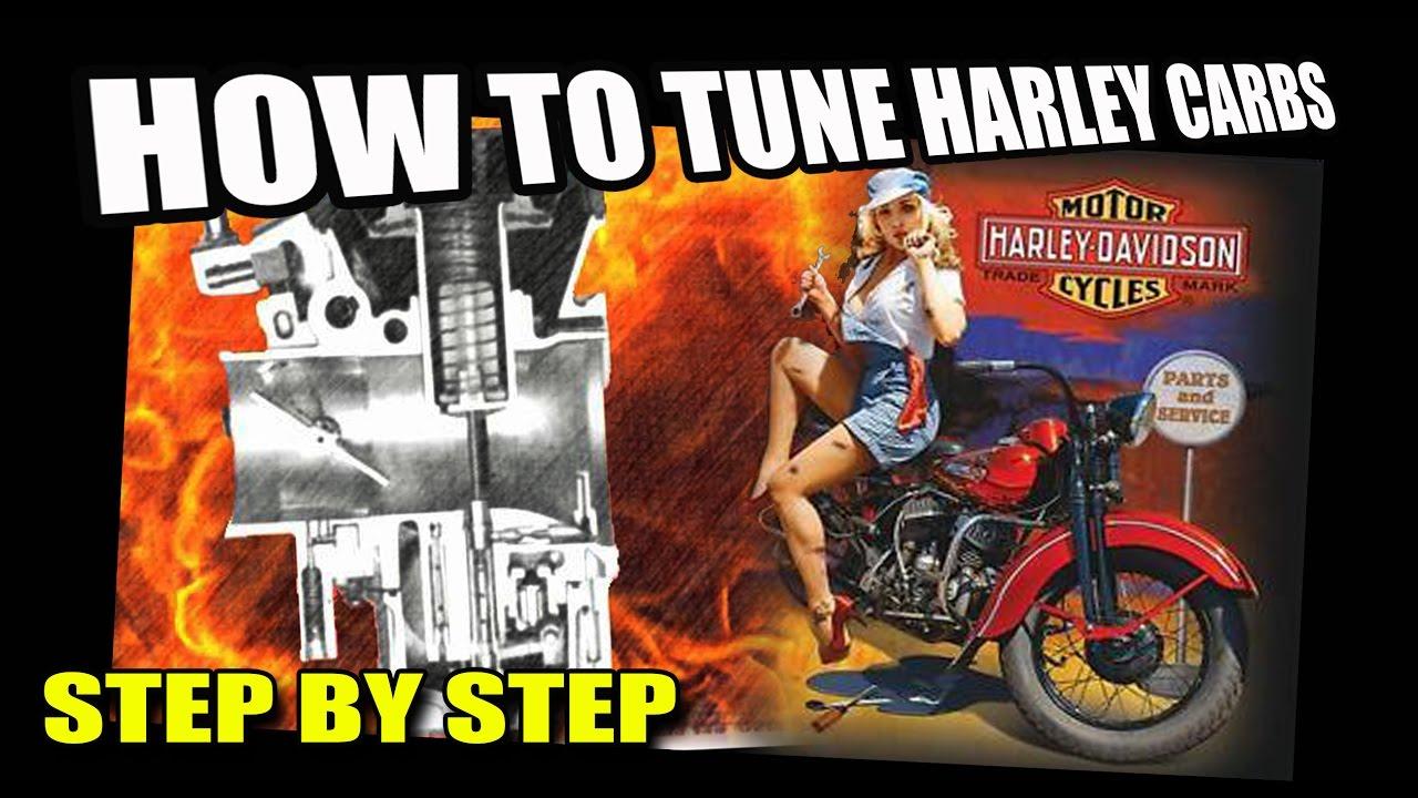 how to tune a harley davidson carburetor [ 1280 x 720 Pixel ]