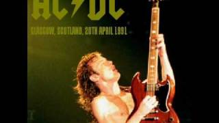 AC/DC - Fling Thing/Highway To Hell - Live [Glasgow 1991]