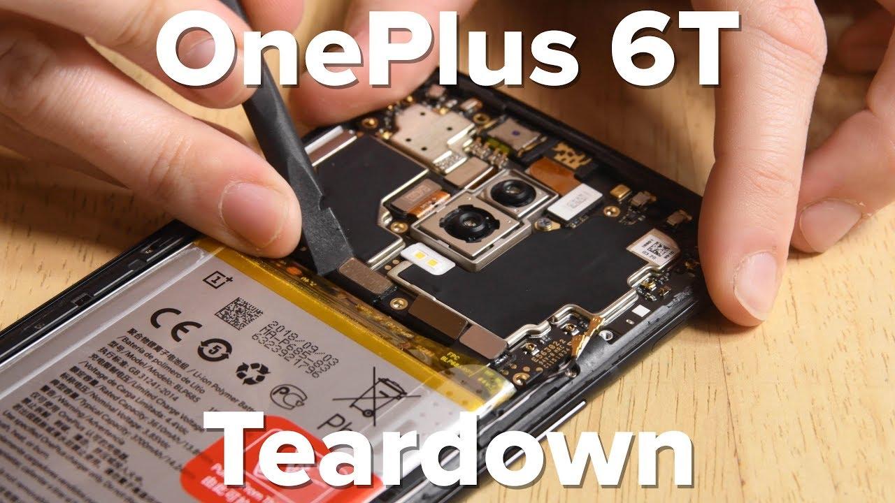 OnePlus 6T Teardown - iFixit