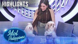 Moira, ipinakilala sa mga Judges ang kanyang pet | Idol Philippines 2019 Auditions