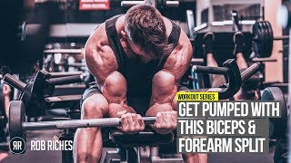 SUPERSET Biceps & Forearms Routine