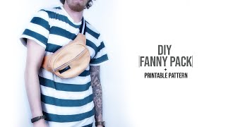 Oval Fanny Pack DIY