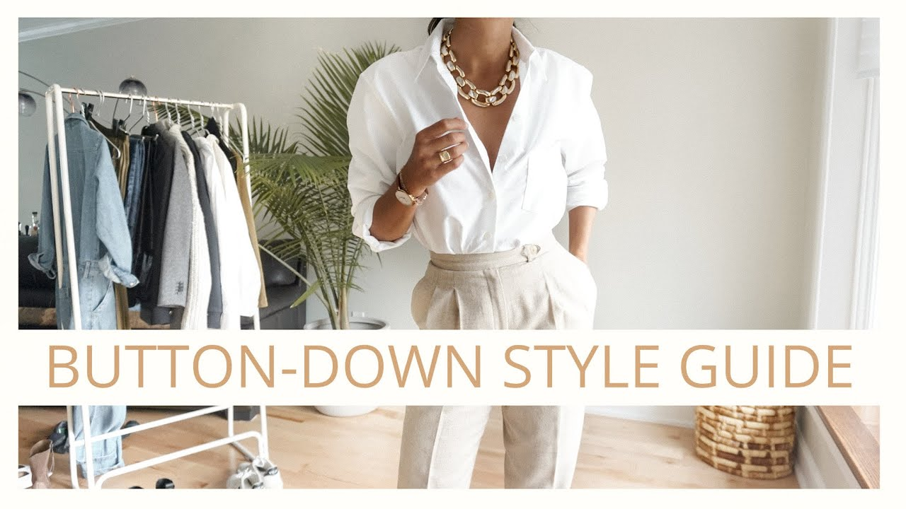 How to Style a White Button Down For Different Bodies   The Ultimate Guide    AD