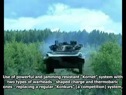 Firepower upgrade for BMP 2 M (English subtitles)