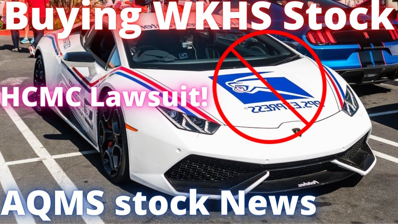 Workhorse stock news USPS? Healthier Choices Management HCMC Stock Lawsuit! Aqua Metals AQMS stock!