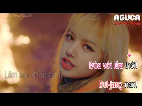 [Karaoke Việt] PLAYING WITH FIRE - BLACKPINK