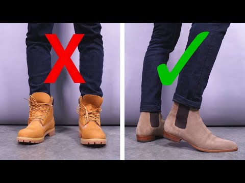 6 Ways You're Wearing Your Boots WRONG | Chelsea, Combat, And Dress Boot Style Tips