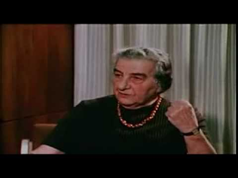 Golda Meir Interview on Arab-Israeli Relations and Terrorism 1973