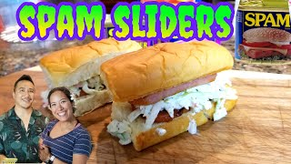 Hawaiian Spam Sliders Recipe with Anne's Family Recipe