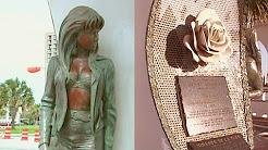 Visita el monumento a Selena Quintanilla en Corpus Christi, Texas