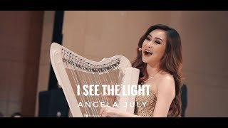 I See the Light - Live Vocal and Harp Performance by Angela July