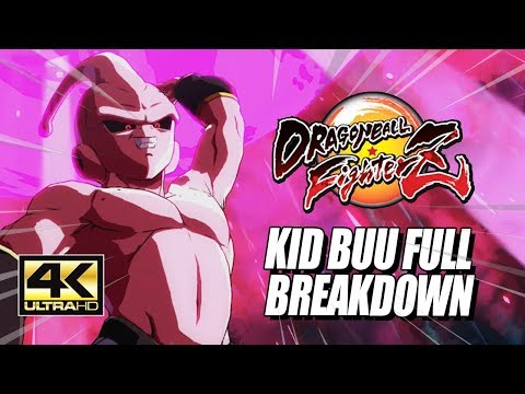 kid-buu---specials,-supers,-combos-&-breakdown:-dragonball-fighterz