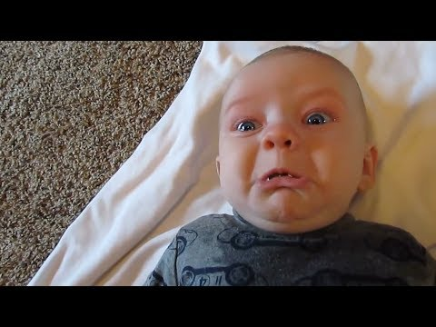 Funny Babies Scared of Farts Compilation (2017)