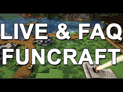 Live FunCraft - Mini Jeux & FAQ (+ 15 000 Faveurs à gagner !)