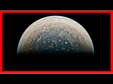 Jupiter's skies are peppered with electron streams, ammonia plumes, and massive storms