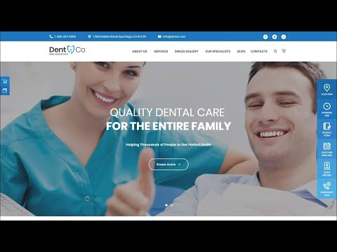 Dentist WordPress Theme [Review] For 2020