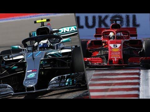 BOTTAS DA LA SORPRESA A HAMILTON Y A FERRARI  - RESUMEN CLASIFICACION GP RUSIA F1 2018