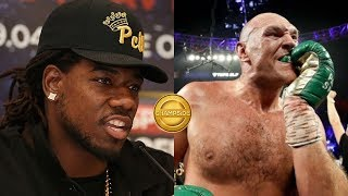 Charles Martin Admits Tyson Fury Gloves Looked Suspect Against Deontay Wilder! (WOW)