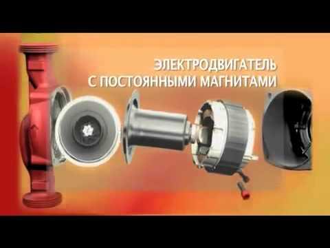 Установка циркуляционного насоса GRUNDFOS в систему отопления .