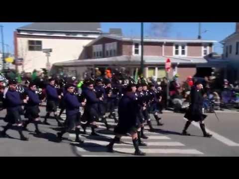 Mystic Irish Parade 2015 - Full Parade