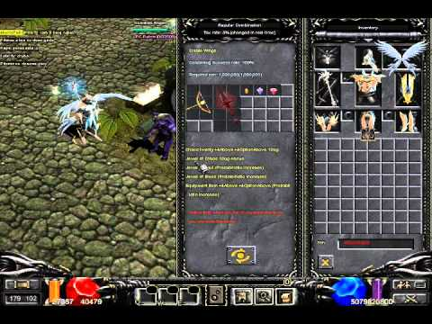 How to create Level 1 wings in MU Online ?