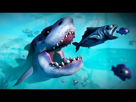 Play as a fish try to survive feed and grow fish for Fed and grow fish