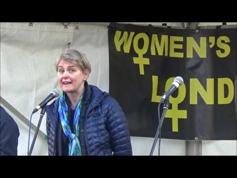 Yvette Cooper MP Speech at Women's March London