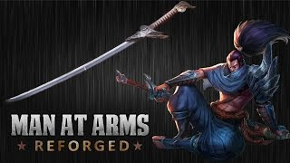 yasuo s blade league of legends man at arms reforged