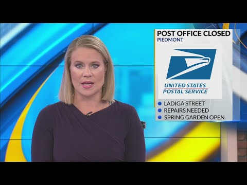 Post Office Closed In Piedmont