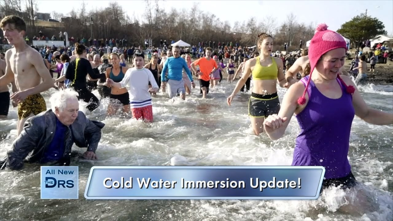 Find Out How Woman is Feeling after Her Polar Plunge!