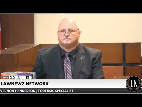 Henry Segura Trial Day 2 Part 2 Forensic Specialist Vernon Henderson Testifies 08/04/17