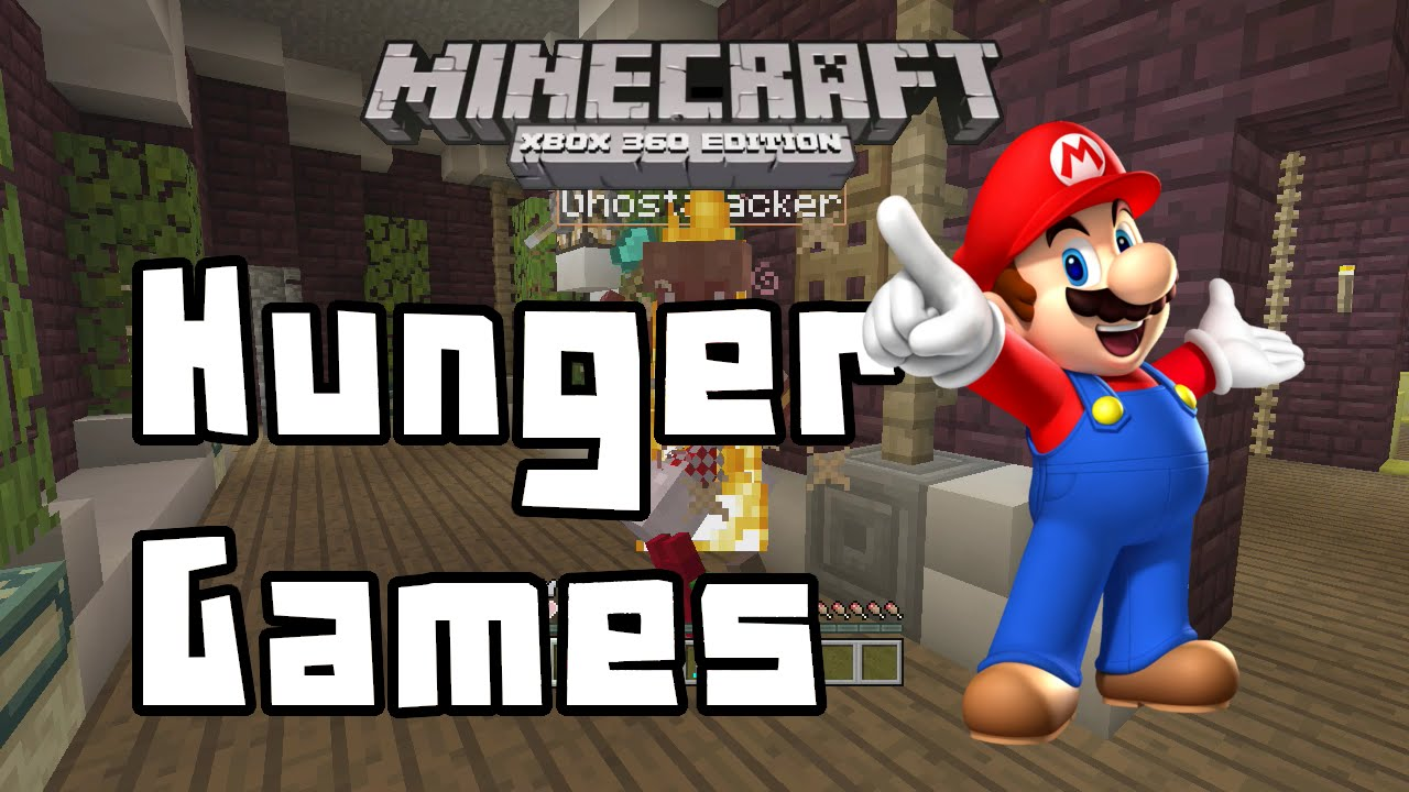 Xbox 360 Hunger Games : Minecraft xbox mario hunger games you only live